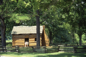 The Lincolns lived at Knob Creek from the time Abraham was 2 until he was almost 8 years old. – Photo courtesy Kentucky Tourism and Travel
