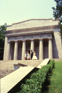 Birthplace of Abraham Lincoln National Historical Park is a shrine visited by tourists for more than a century. – Photo courtesy Kentucky Tourism and Travel