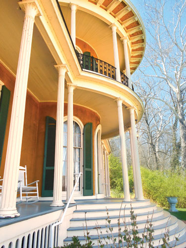 The Hillforest Mansion in Aurora is a National Hisoric Landmark.