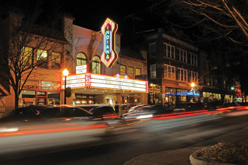 The Buskirk-Chumley Theatre in Bloomington