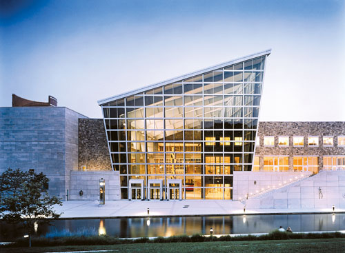 The Indiana State Museum in Indianapolis