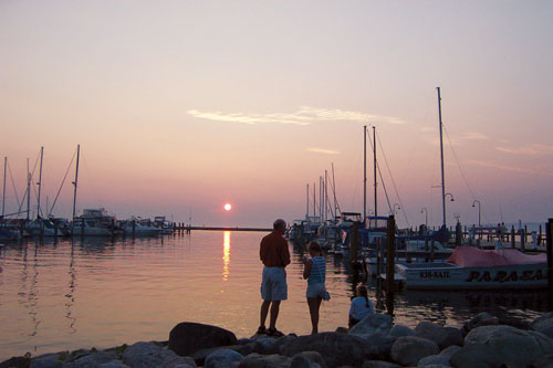Petoskey Marina is the ideal place to peruse docked boats or dock your own.