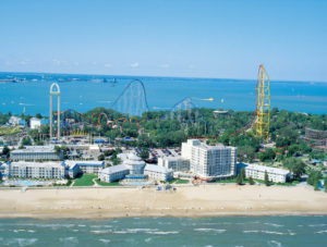 Whatever you enjoy about being on a beach, you're sure to find it at the beautiful Cedar Point beach. Stretching out for a mile along Lake Erie, the beach and its cooling breezes were Cedar Point's first attractions more than 140 years ago.